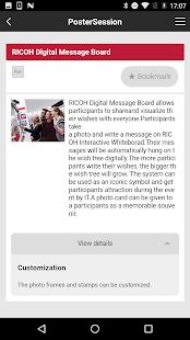 RICOH Event App - náhled