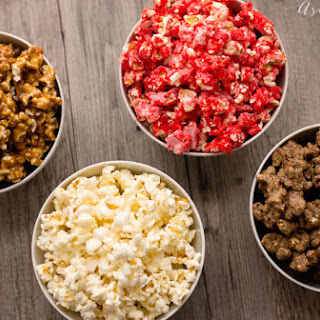 Peanut Buttery Puppy Chow Popcorn