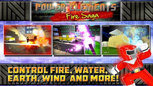 Power Elements Fire Saga