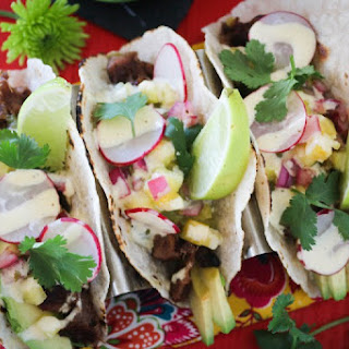 Lengua Loaded Tacos
