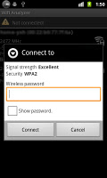 screenshot of Wifi Connecter Library