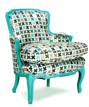 Chaircouture: Rosebud Chair
