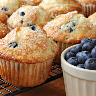 1. Blueberry Oatmeal Muffins.
