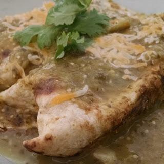 Smoked Chicken Enchiladas