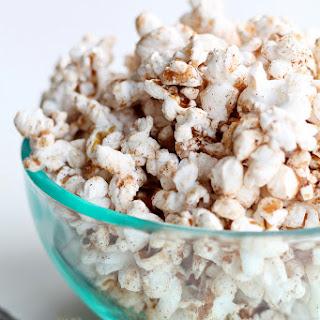 Cinnamon Brown Sugar Popcorn.