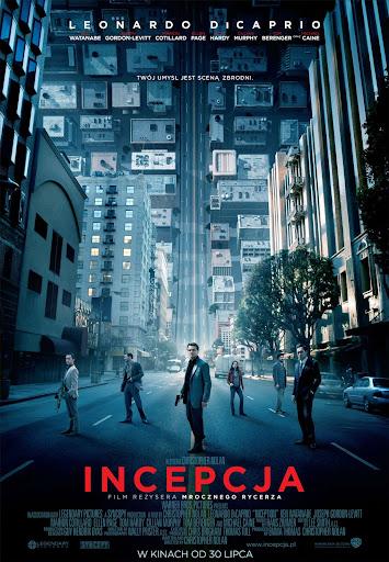 Polski plakat filmu 'Incepcja'