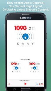 AM 1090 KAAY- screenshot thumbnail