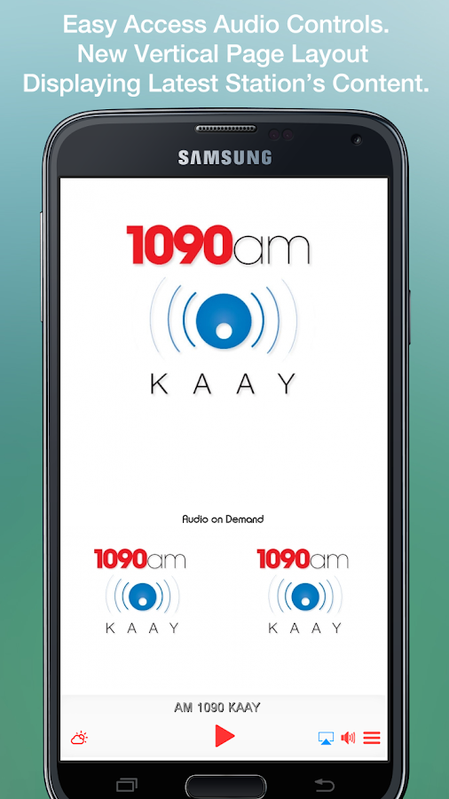 AM 1090 KAAY- screenshot
