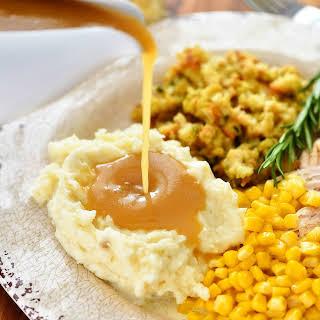 Turkey Gravy.