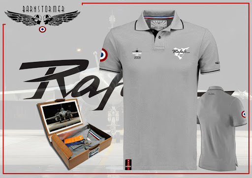 Rafale solo display polo made in france barnstormer