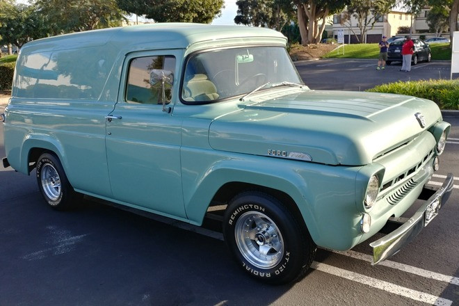 1957 Ford Panel Truck Hire CA