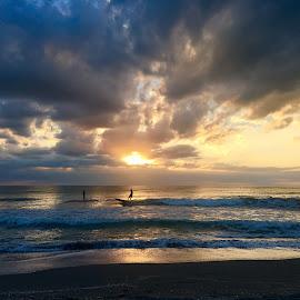 Sunset in Venice FL by Zuzana Kapolkova - Instagram & Mobile iPhone