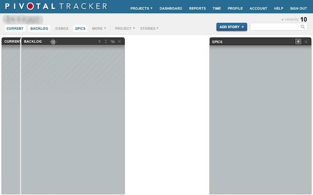 Rearrange Panels in Pivotal Tracker