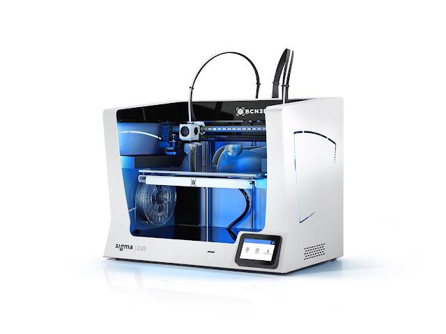BCN3D Sigma D25 Independent Dual Extrusion 3D Printer