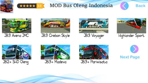 Mod Bus Oleng Simulator Indonesia 1.2 screenshots 2