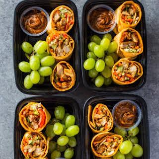 Thai Chicken Wraps Bistro Boxes Meal-Prep.