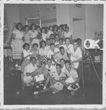 Photo: excursie naar een ziekenhuis in Djakarta onder leiding van D.Ruys