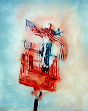 Photo: The Last Great Act of Defiance 2005 30 x 24 in oil on canvas
