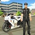 Police Bike Racing Free icon