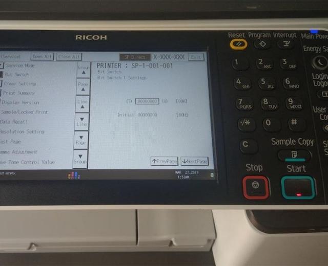 Các bạn nên reset máy photocopy RICOH để tăng tốc độ hoạt động của máy