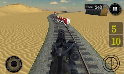 武装直升机子弹头列车:跨栏