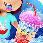Game Ice Slushy Drink Maker: Frozen Rainbow Desserts APK for Windows Phone