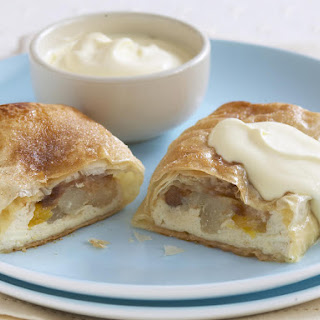 Fruit, Ricotta and Almond Strudels