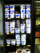 """Photo: The """"regular"""" Cool Whip was right next to the frosting. I would buy some but I'm running low on freezer space."""