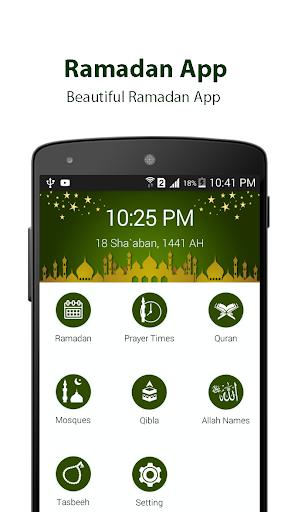 Ramadan Calendar 2020, Prayer Timing, Quran, Qibla screenshot 1