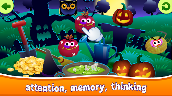 Funny Food! Educational Games for Toddlers!- screenshot thumbnail