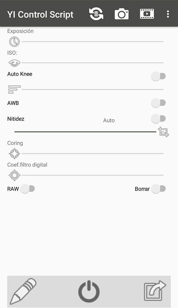 YI Control Script Pro Screenshot