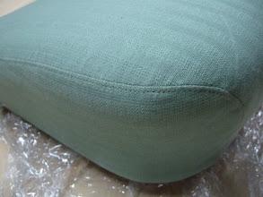 Photo: original reproduction upholstery
