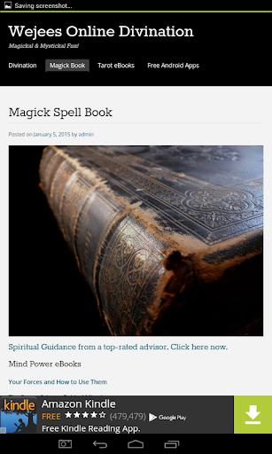 Wicca Magick Book of Shadows|玩書籍App免費|玩APPs