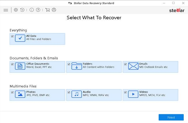 drive recovery