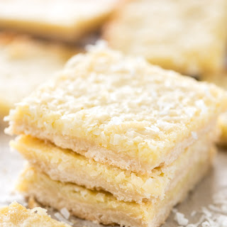 Gooey Coconut Pie Bars