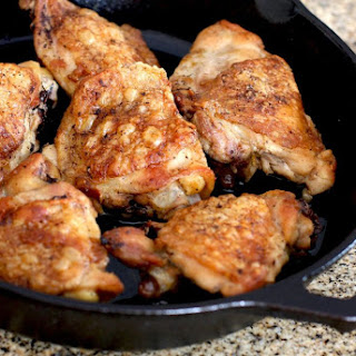 Chicken Thigh With Skin Recipes.