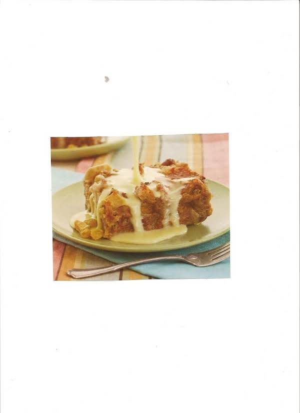 Old-fashion Bread Pudding With Bourbon Sauce Recipe