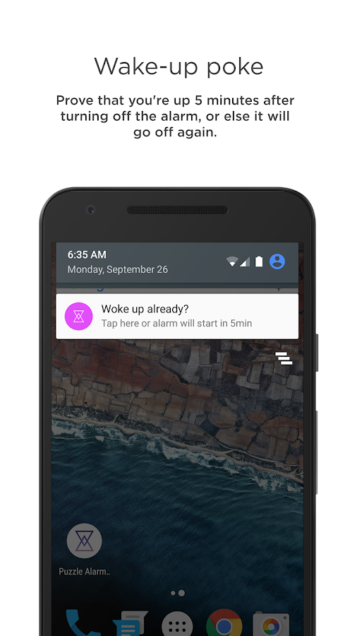 Puzzle Alarm Clock- screenshot