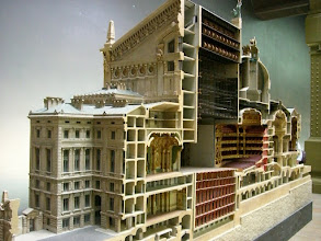 Photo: At the Musée d'Orsay - Cross section of the famous Paris Opera House...the one the Phantom of the Opera haunted.