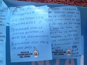 Photo: Mensajes en el Mural de los vecinos de Villa de la Rosa
