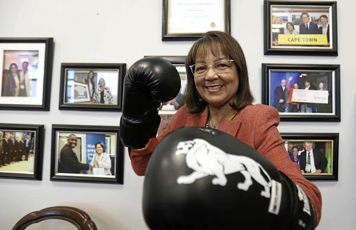 Cape Town mayor Patricia de Lille relishes little more than a ding-dong political battle, and she is giving as good as she gets in her fight against her own party, the DA.