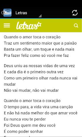 android Fernanda Brum Musica & Letras Screenshot 2