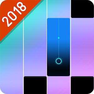 Pink Piano Song Book: Music Tiles 2018