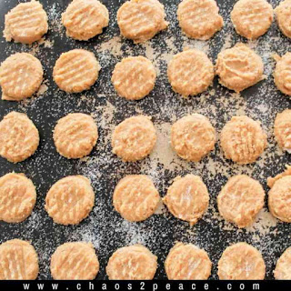 The World's Best Peanut Butter Cookies.