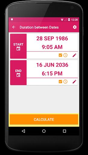 Dating calculator app