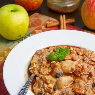 Slow Cooker Apple Pie Steel Cut Oatmeal