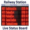 Railway Station Live Board