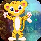 Kavi Escape Game 459 Little Leopard Rescue  Game icon