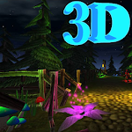 3D Magic forest live Wallpaper Icon
