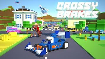 Crossy Brakes : Blocky Toon Racer